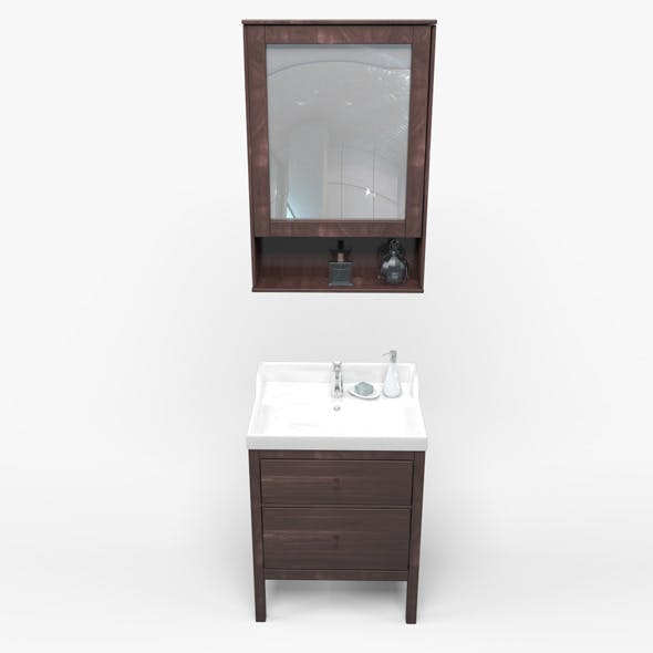 Bathroom basin - 3DOcean Item for Sale