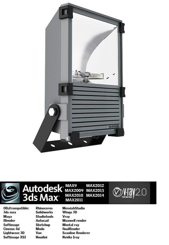 Industrial Lighting ES 2 - 3DOcean Item for Sale