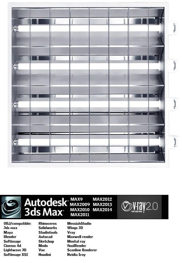 Industrial Lighting ES 10 - 3DOcean Item for Sale