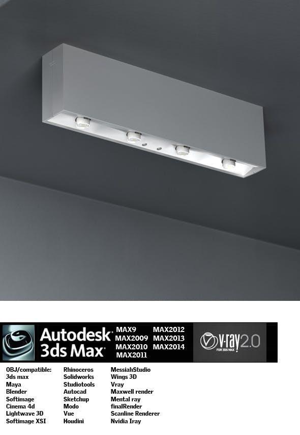 Industrial Lighting ES 17 - 3DOcean Item for Sale