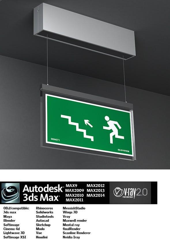 Industrial Lighting ES 21 - 3DOcean Item for Sale