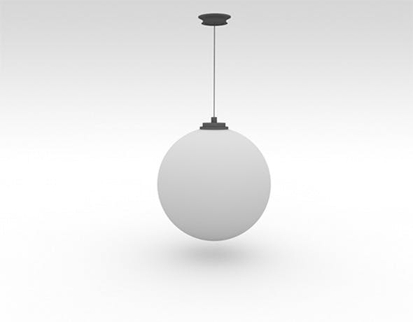 Wall Droplight - 3DOcean Item for Sale
