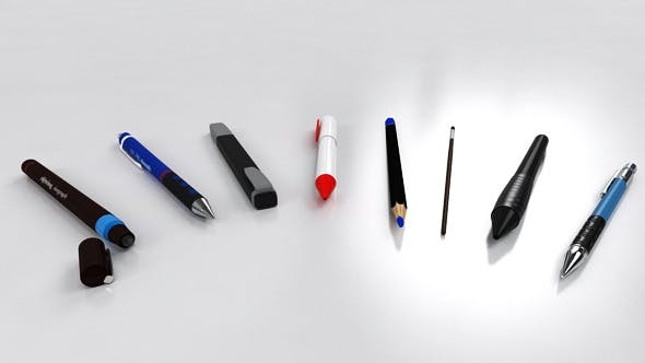 Drawing Set - 3DOcean Item for Sale