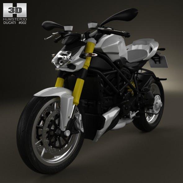 Ducati Streetfighter 848 2012 - 3DOcean Item for Sale