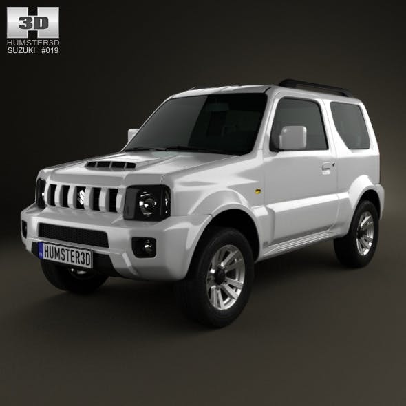 Suzuki Jimny 2013 - 3DOcean Item for Sale