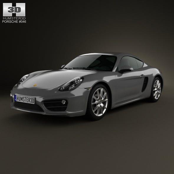 Porsche Cayman 2013 - 3DOcean Item for Sale