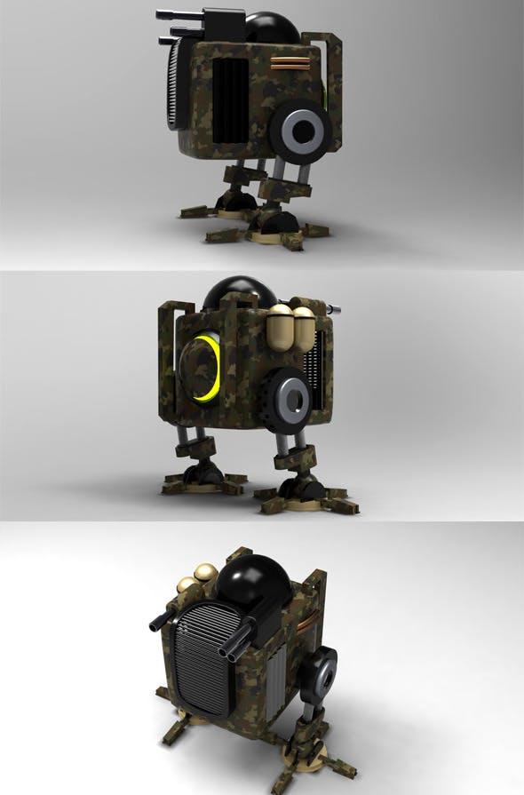 War machine - 3DOcean Item for Sale