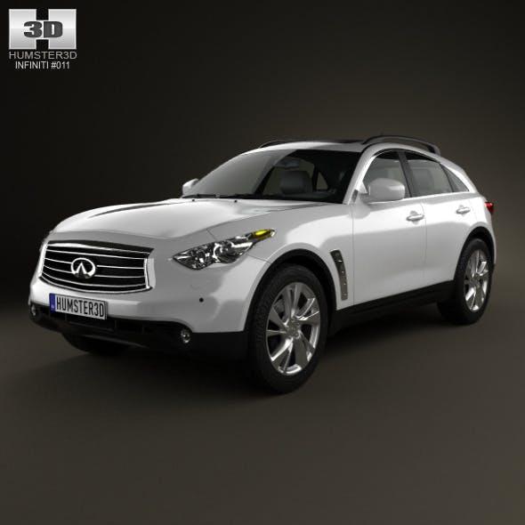 Infiniti FX 2012 - 3DOcean Item for Sale