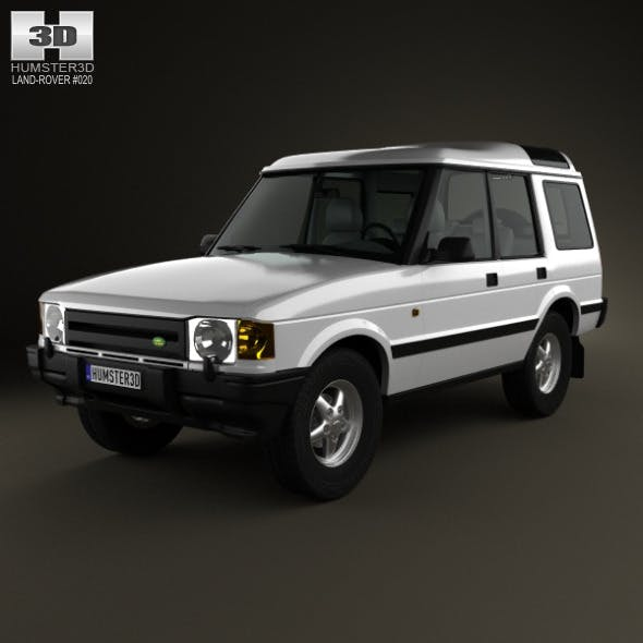 Land Rover Discovery 5-door 1989 - 3DOcean Item for Sale