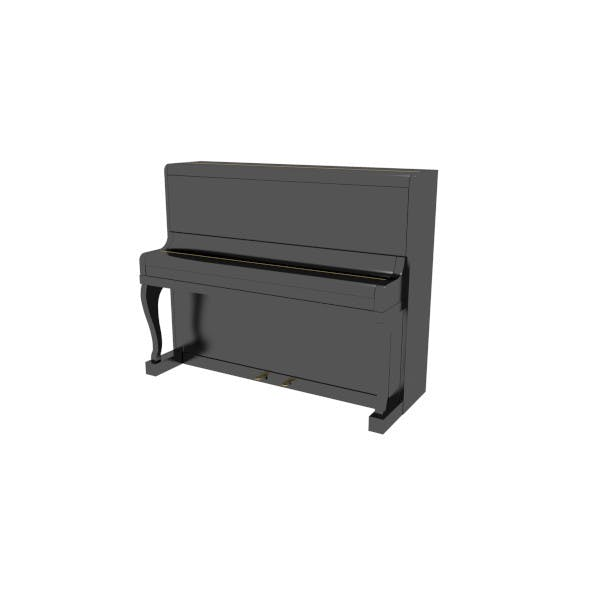Piano (Closed) - 3DOcean Item for Sale