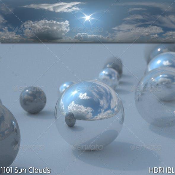 HDRI IBL 1101 Sun Clouds