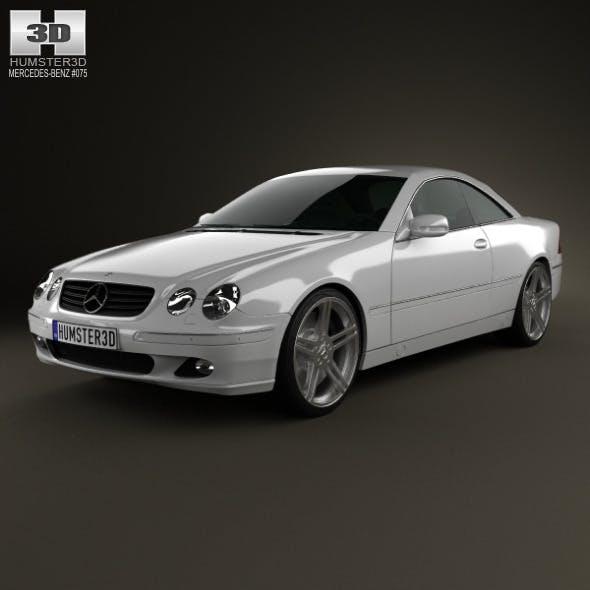 Mercedes-Benz CL-Class (W215) 2006 - 3DOcean Item for Sale