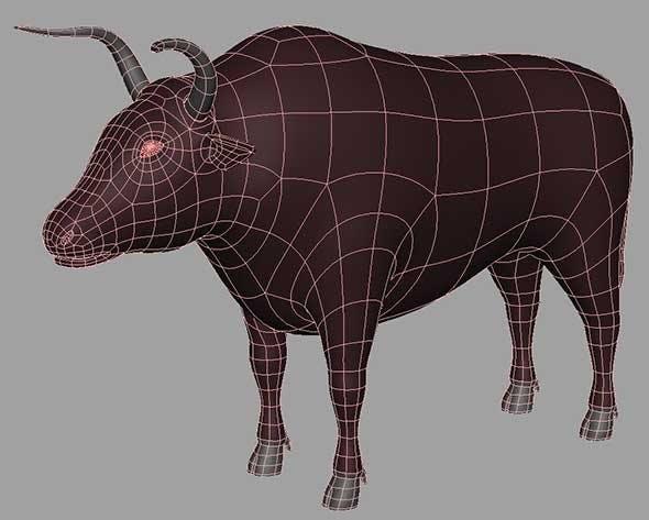 Bull - 3DOcean Item for Sale