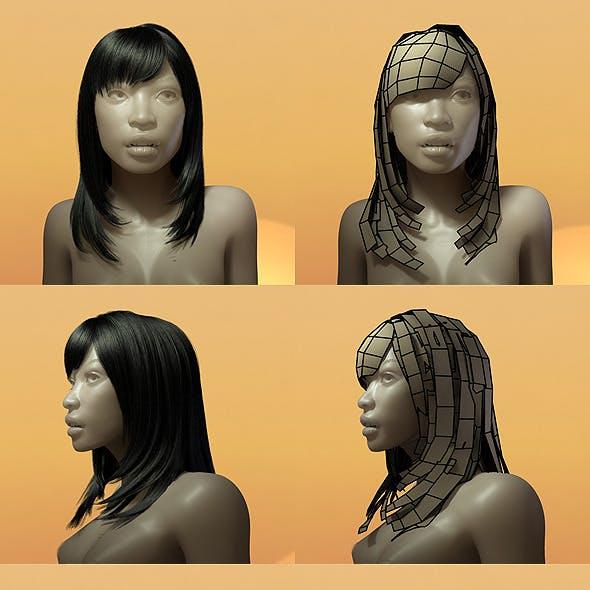 Female Hair Style 005