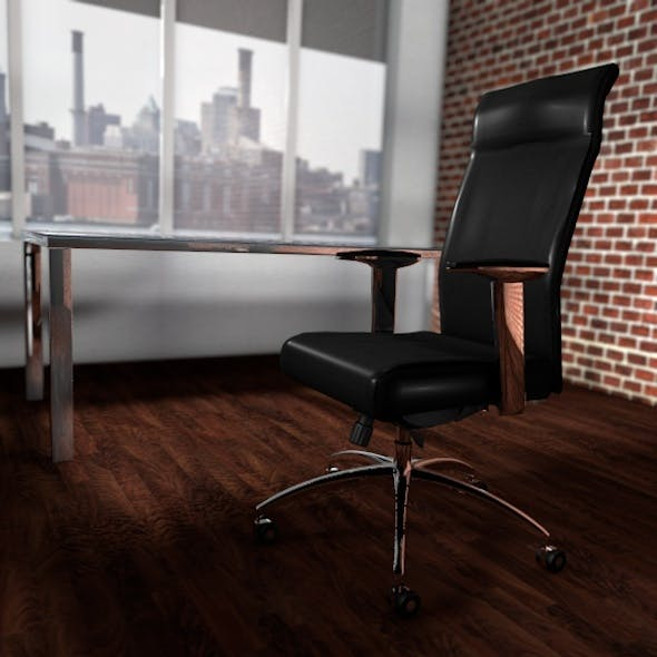 Executive Chair - 3DOcean Item for Sale