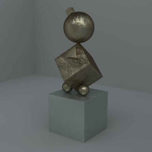 Cinema 4D Bronze Metal Materials - 3DOcean Item for Sale