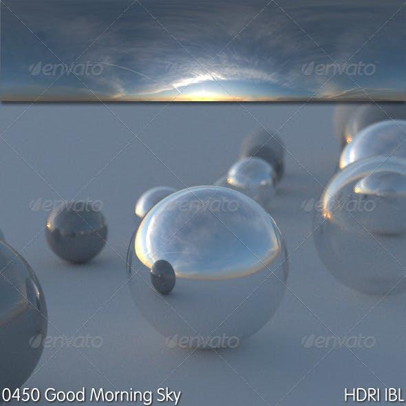 HDRI IBL 0450 Good Morning Sky