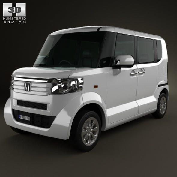 Honda N Box plus JF1 2012 - 3DOcean Item for Sale