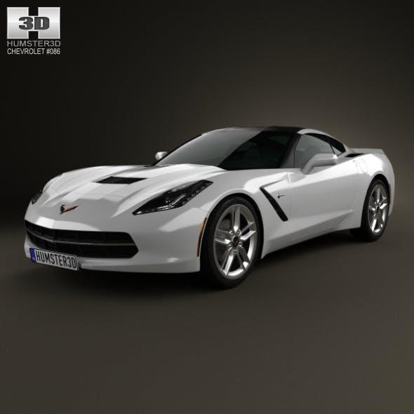 Chevrolet Corvette Stingray (C7) Coupe 2014 - 3DOcean Item for Sale
