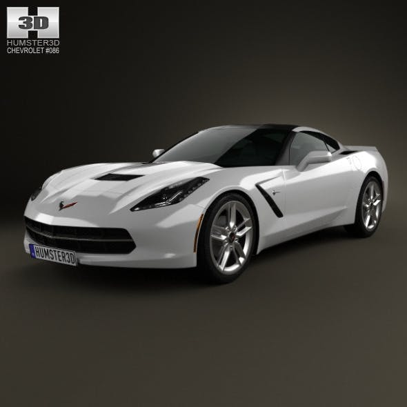 Chevrolet Corvette Stingray (C7) Coupe 2014