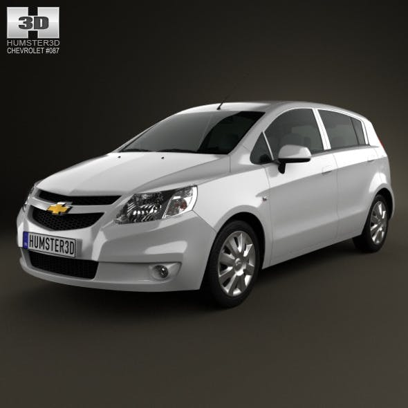 Chevrolet Sail hatchback 2012