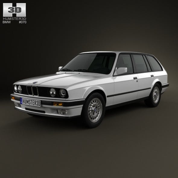 BMW 3 Series touring (E30) 1990