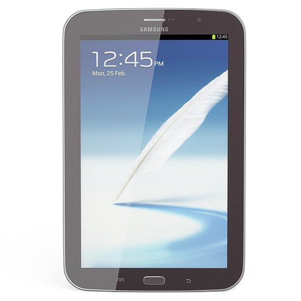 Samsung Galaxy Note 8.0 Brown - 3DOcean Item for Sale