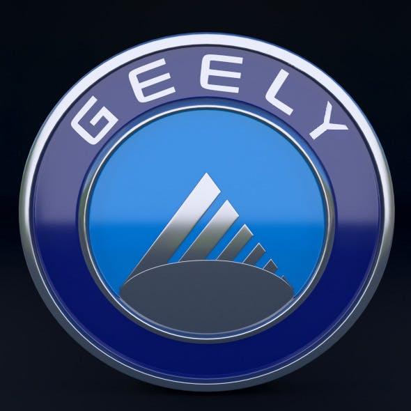Geely Logo - 3DOcean Item for Sale