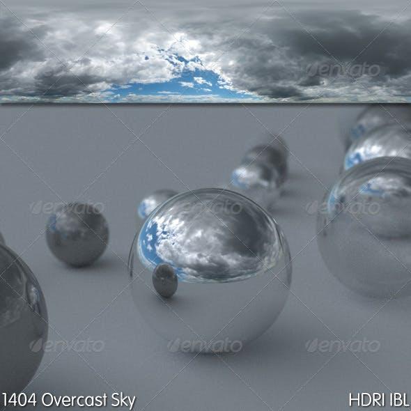 HDRI IBL 1404 Overcast Sky