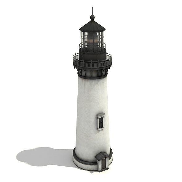 White Light Tower - 3DOcean Item for Sale
