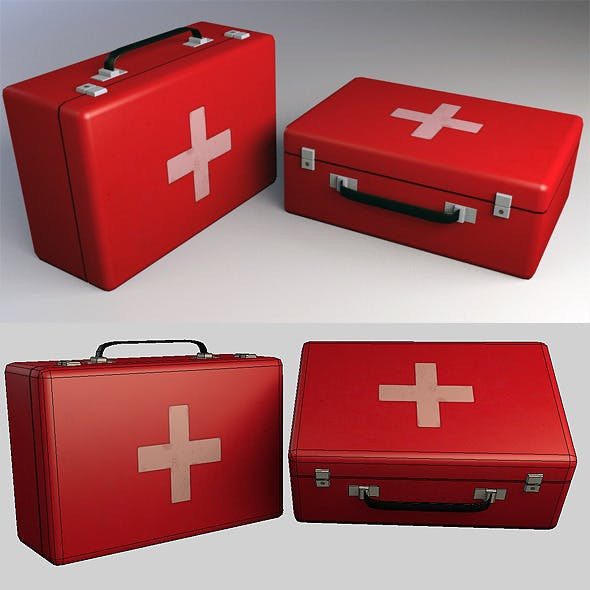 Medkit Low Poly