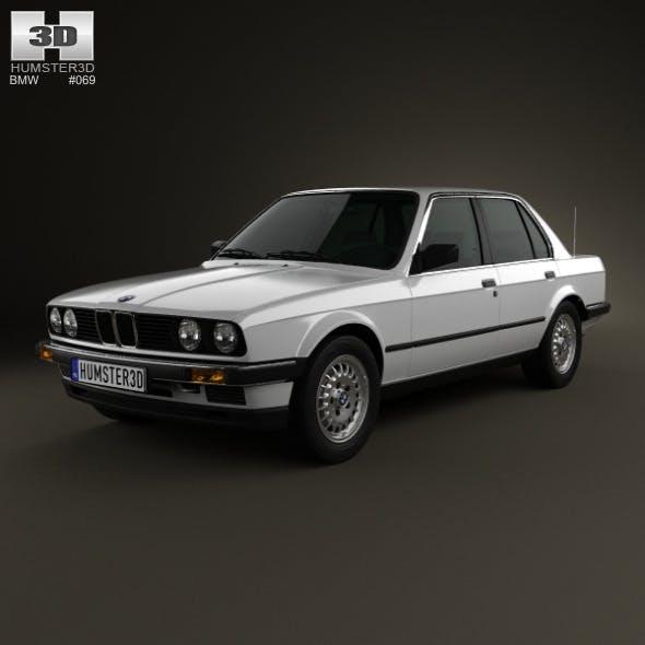 BMW 3 Series sedan (E30) 1990 - 3DOcean Item for Sale
