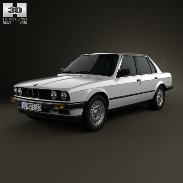 BMW 3 Series sedan (E30) 1990