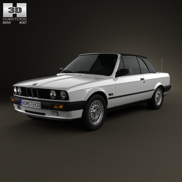 BMW 3 Series convertible (E30) 1990 - 3DOcean Item for Sale