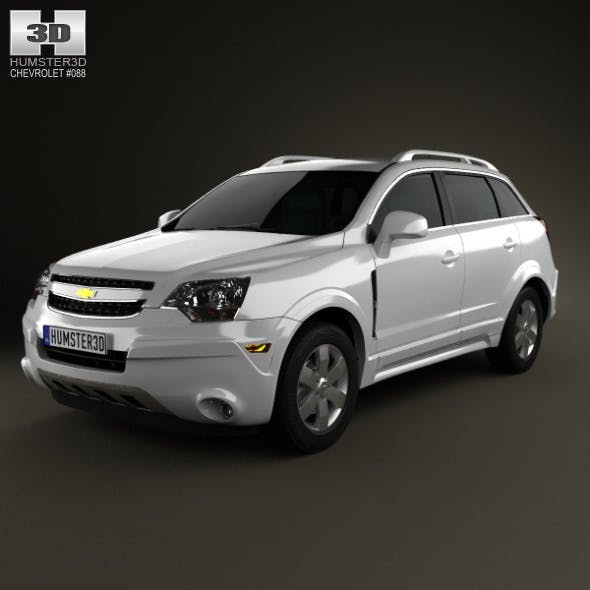 Chevrolet Captiva (Brazil) 2012 - 3DOcean Item for Sale