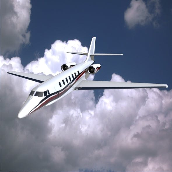 Cessna Citation Sovereign private jet - 3DOcean Item for Sale