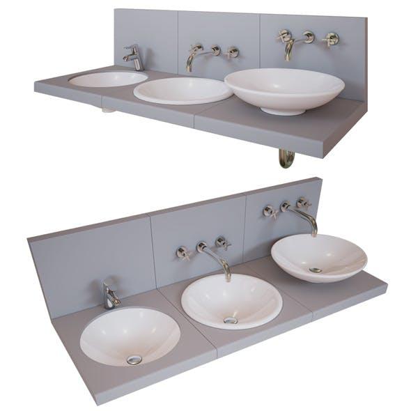 Washbasin - 3DOcean Item for Sale
