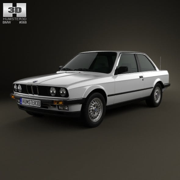 BMW 3 Series coupe (E30) 1990 - 3DOcean Item for Sale