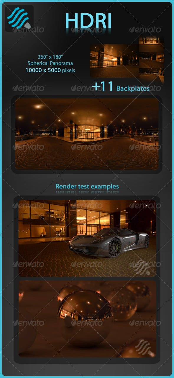 HDRI: Urban 1 - 3DOcean Item for Sale