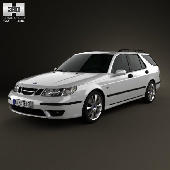 Saab 9-5 Aero wagon 2005