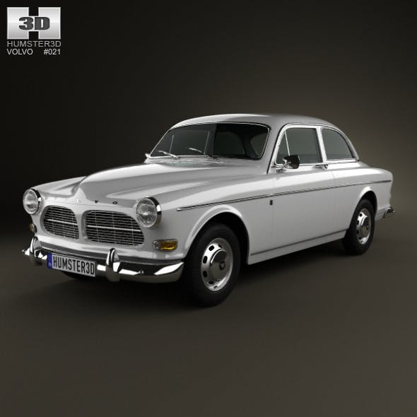 Volvo Amazon coupe 1961 - 3DOcean Item for Sale