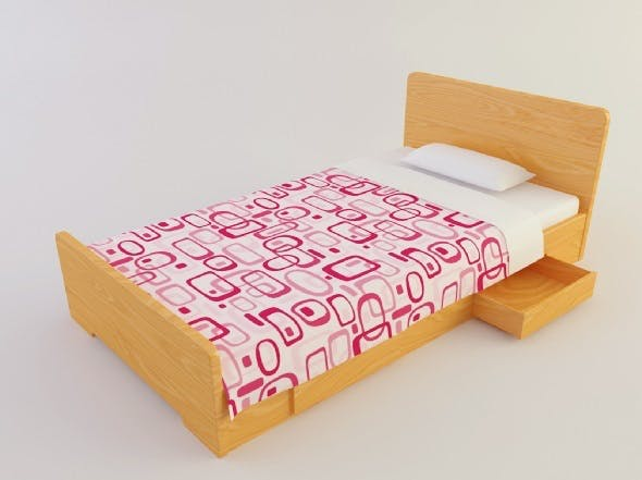 Bed 2 - 3DOcean Item for Sale