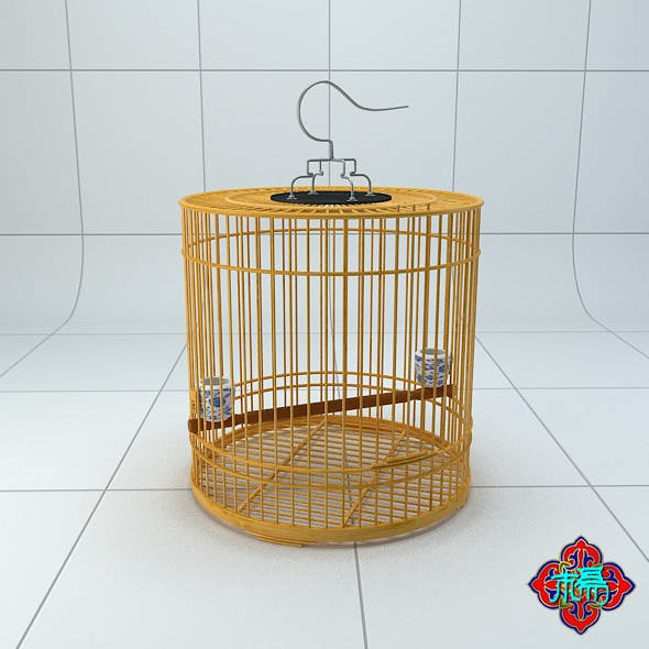 Chinese style bird cage 3
