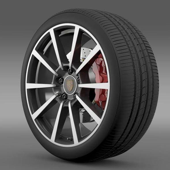 Porsche  911 Carerra 4S wheel