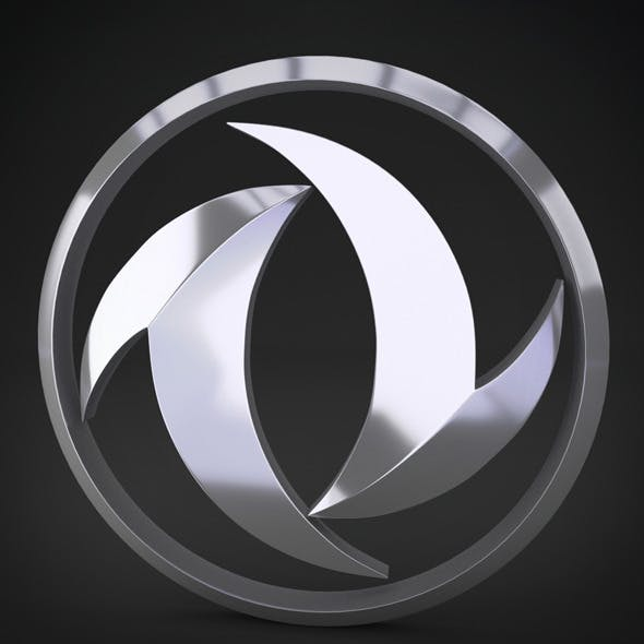 Dong Feng Logo - 3DOcean Item for Sale
