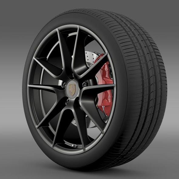 Porsche 911 Carerra Exclusive wheel  - 3DOcean Item for Sale
