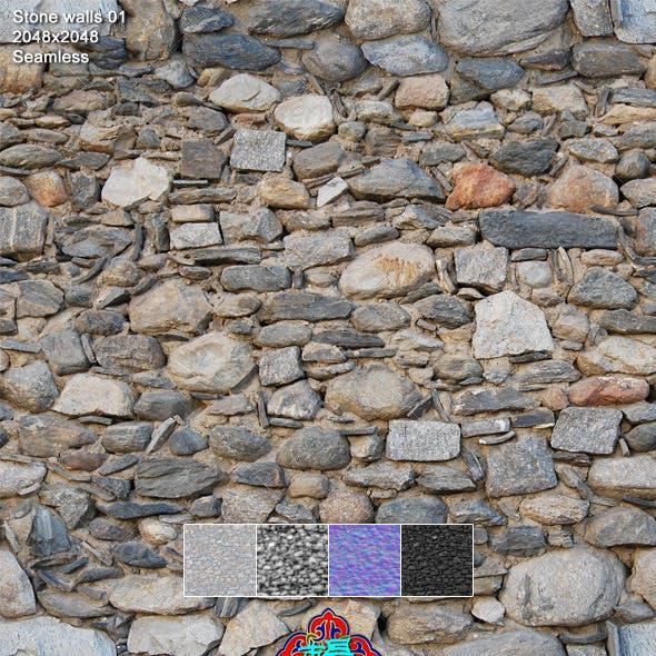 Stone Walls Texture 01