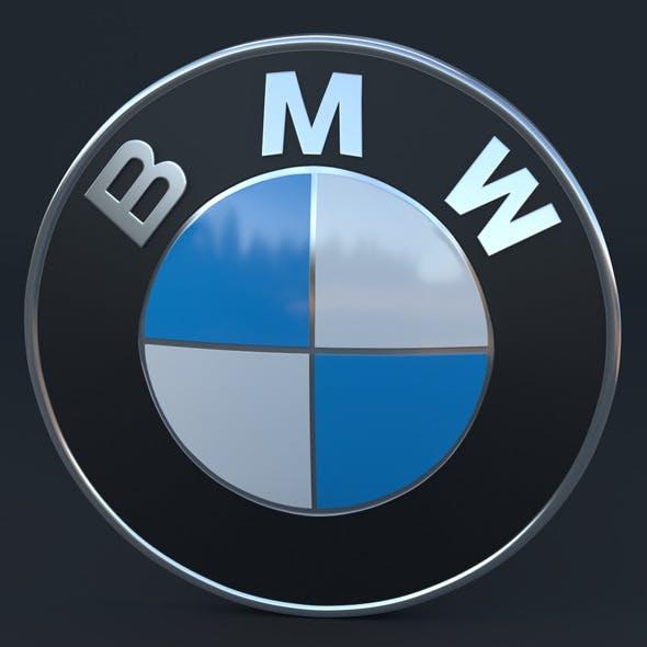 BMW Logo - 3DOcean Item for Sale