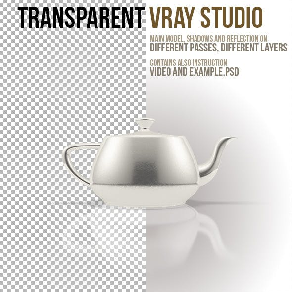 Transparent VRay Studio