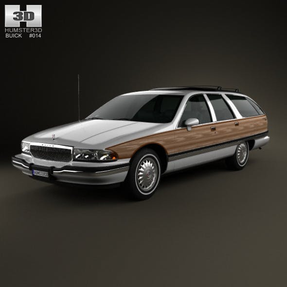 Buick Roadmaster wagon 1991 - 3DOcean Item for Sale
